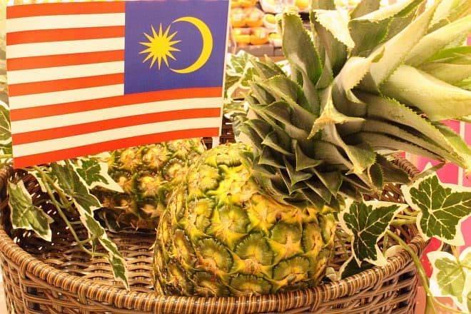 マレーシア産パイナップル