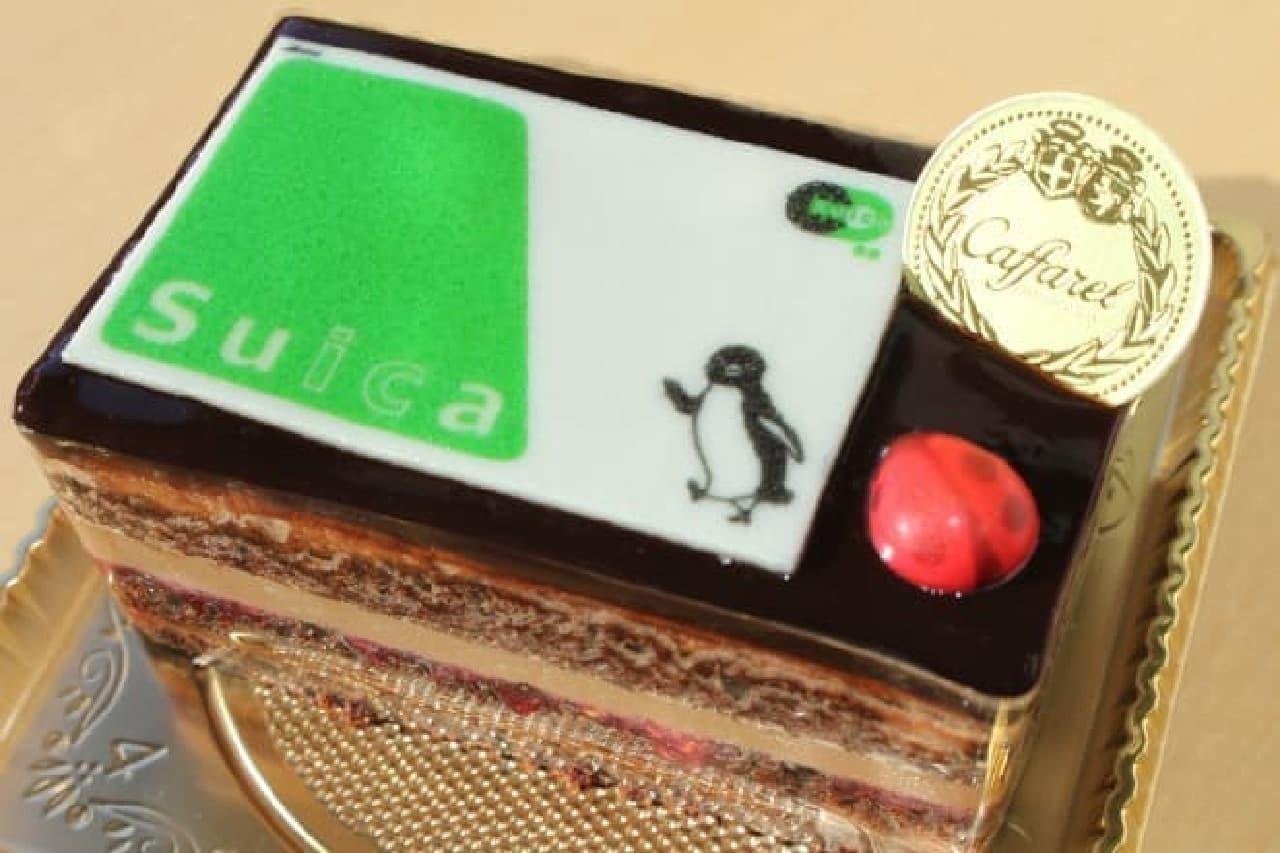 東京駅グランスタ カファレル「カファレル with Suica」「カファレル with Suica クリスマス」