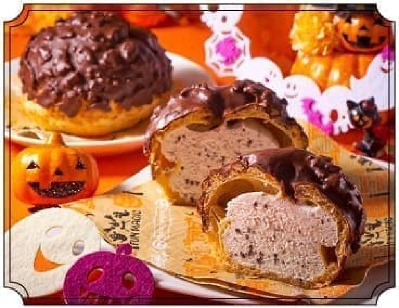 セブン-イレブン「ざくざく食感クッキー&クリームシュー」
