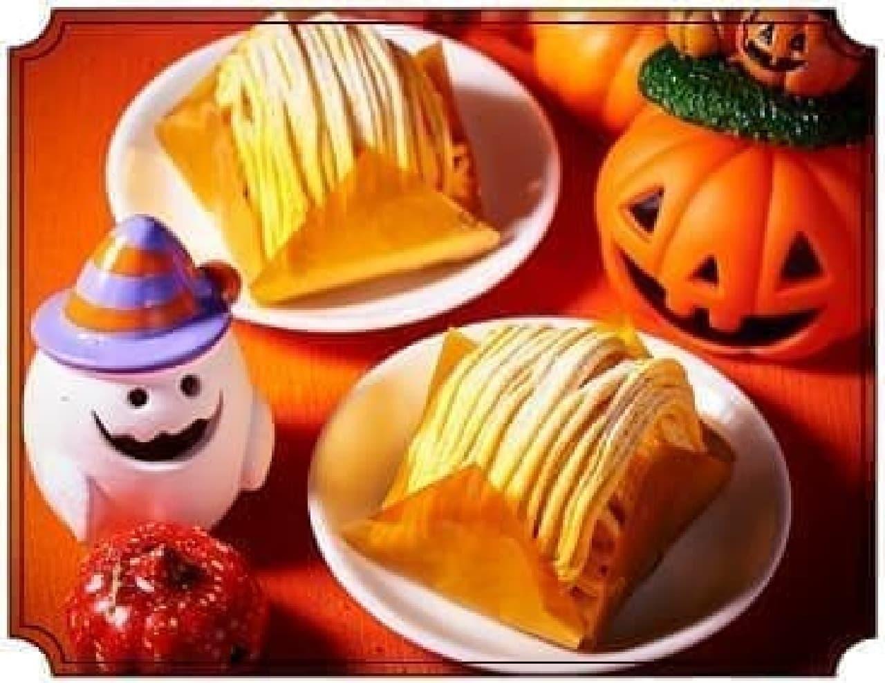 セブン-イレブン「かぼちゃのモンブラン」
