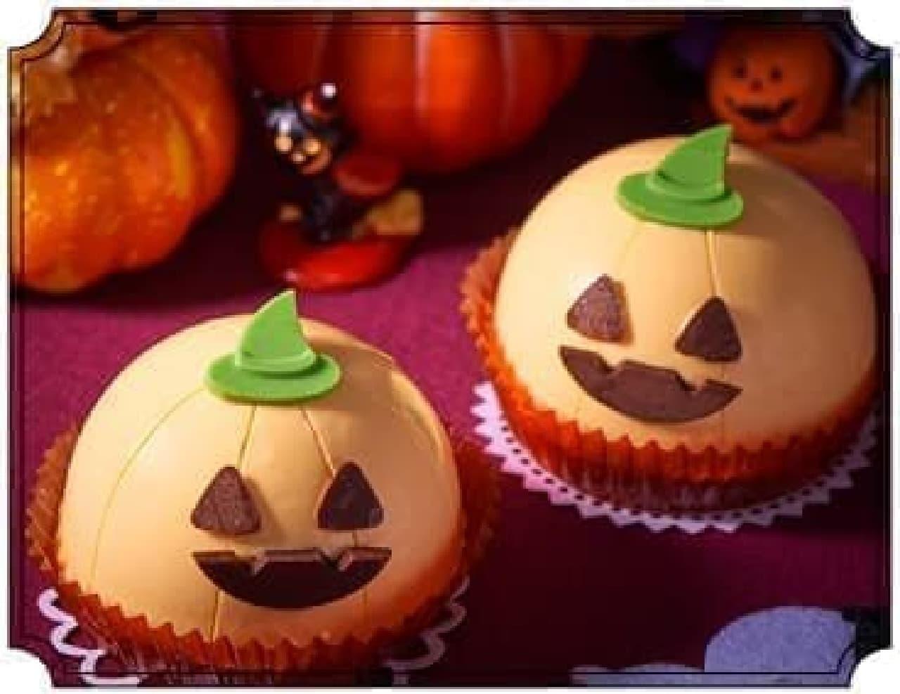 セブン-イレブン「チョコクリームとえびすかぼちゃケーキ」