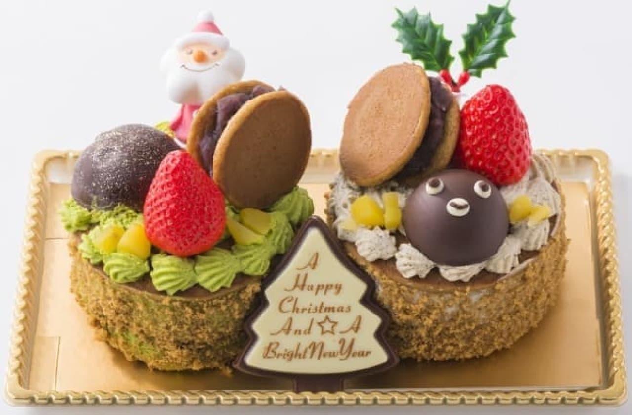 東京駅グランスタ 元町香炉庵「茶・茶DORA ~和クリスマス~」
