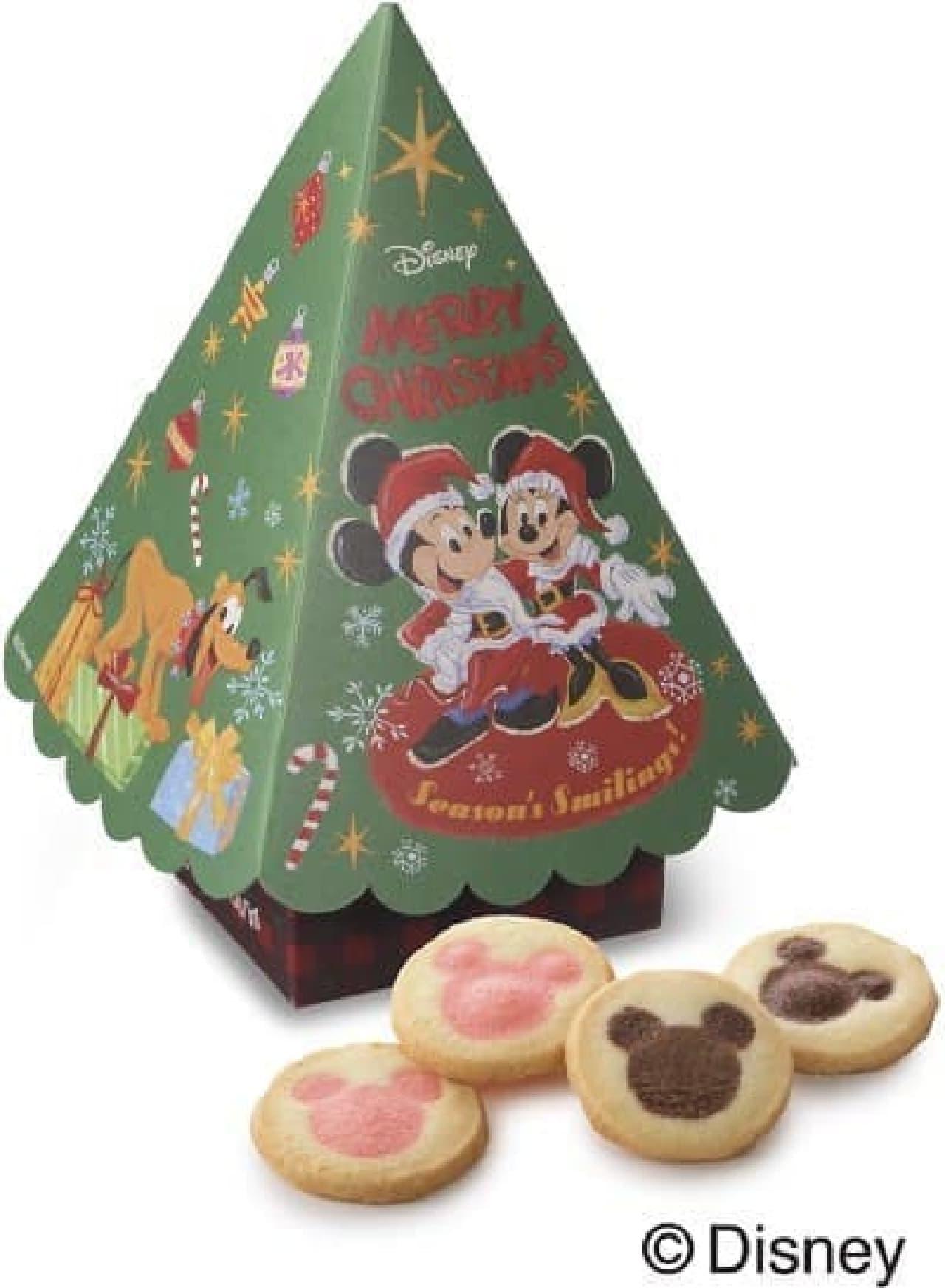 銀座コージーコーナー「<ディズニー>クリスマスツリー(2種7個入)」