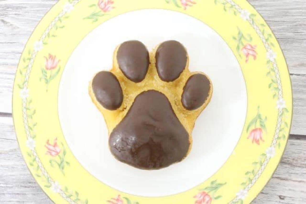 「肉球マドレーヌ」は犬の肉球がデザインされたマドレーヌ
