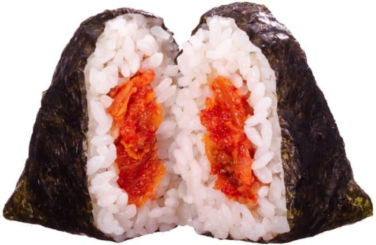 ファミリーマート「韓国風味付海苔 炎の明太キムチ ~ハバネロの後ひく辛さ~」