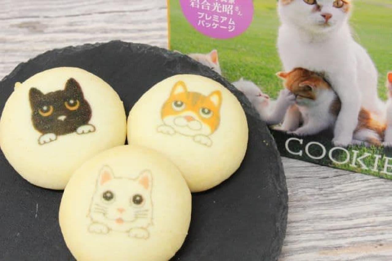 「東京クッキーズ(チョコ味)」は、猫のイラストがプリントされたチョコレートフレーバーのクッキー