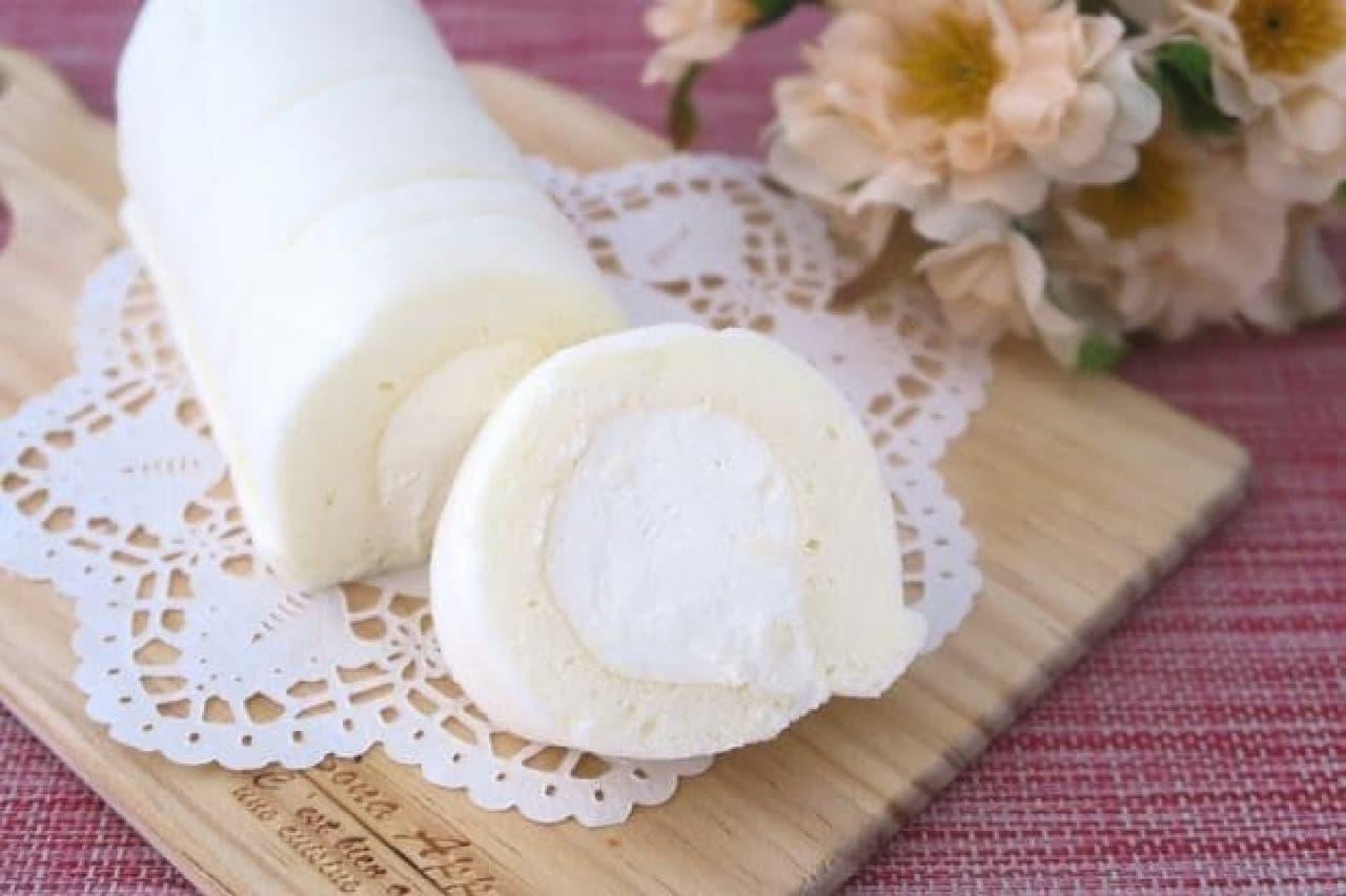 kiri「まっ白なチーズロール」