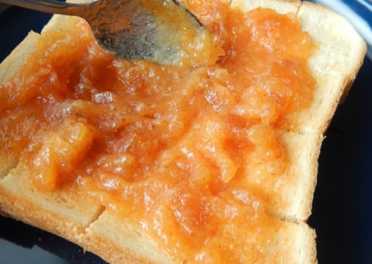 柿の専門店「いしい」から販売されている「柿バター」