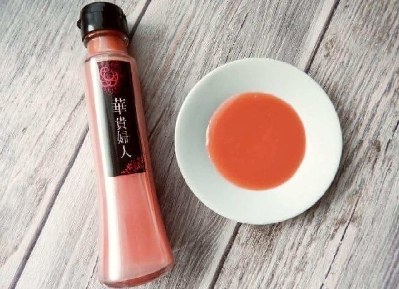 鳥取県発の「ピンク醤油 華貴婦人」