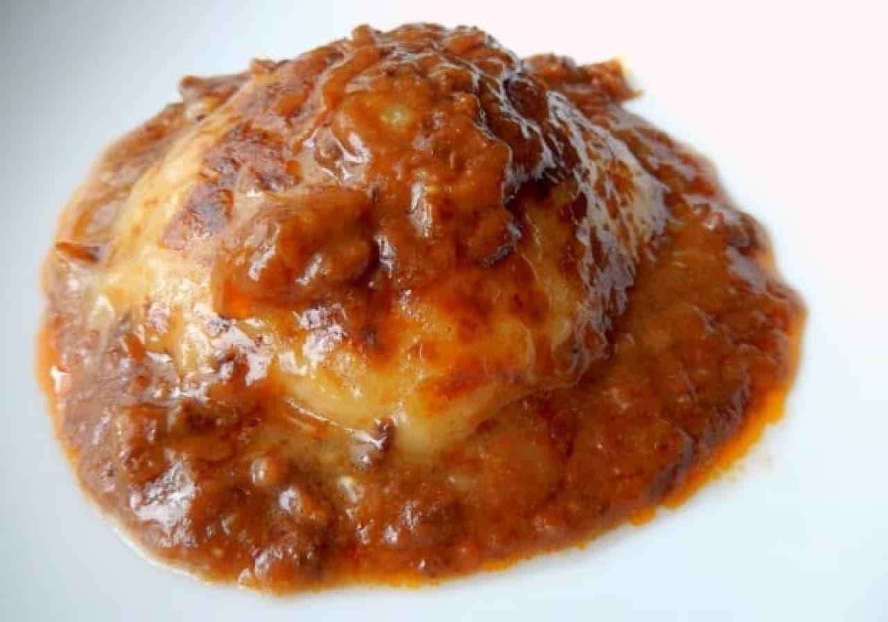 愛媛県発の「杵つき餅カレー」