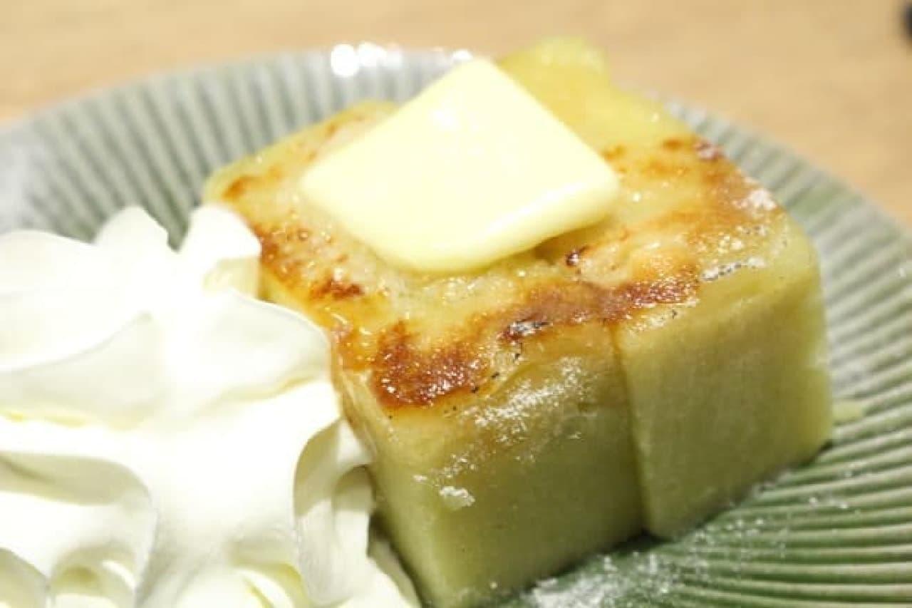 カフェソラーレツムギ 芋ようかんの和三盆ブリュレ