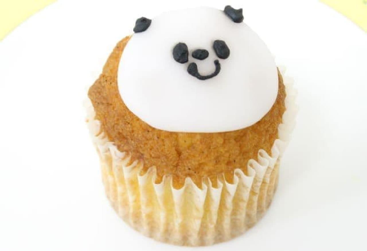 「パンダ」は、バニラビーンズが使用されたプレミアムバニラケーキ