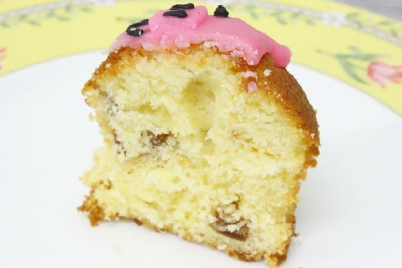 「ぶた」は、5種類のドライフルーツが甘酸っぱいフルーツケーキ