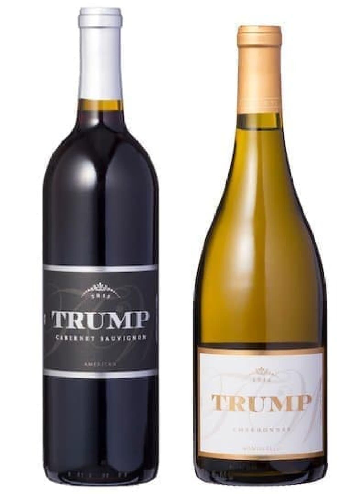 「トランプ・ワイナリー」で醸造されたワイン