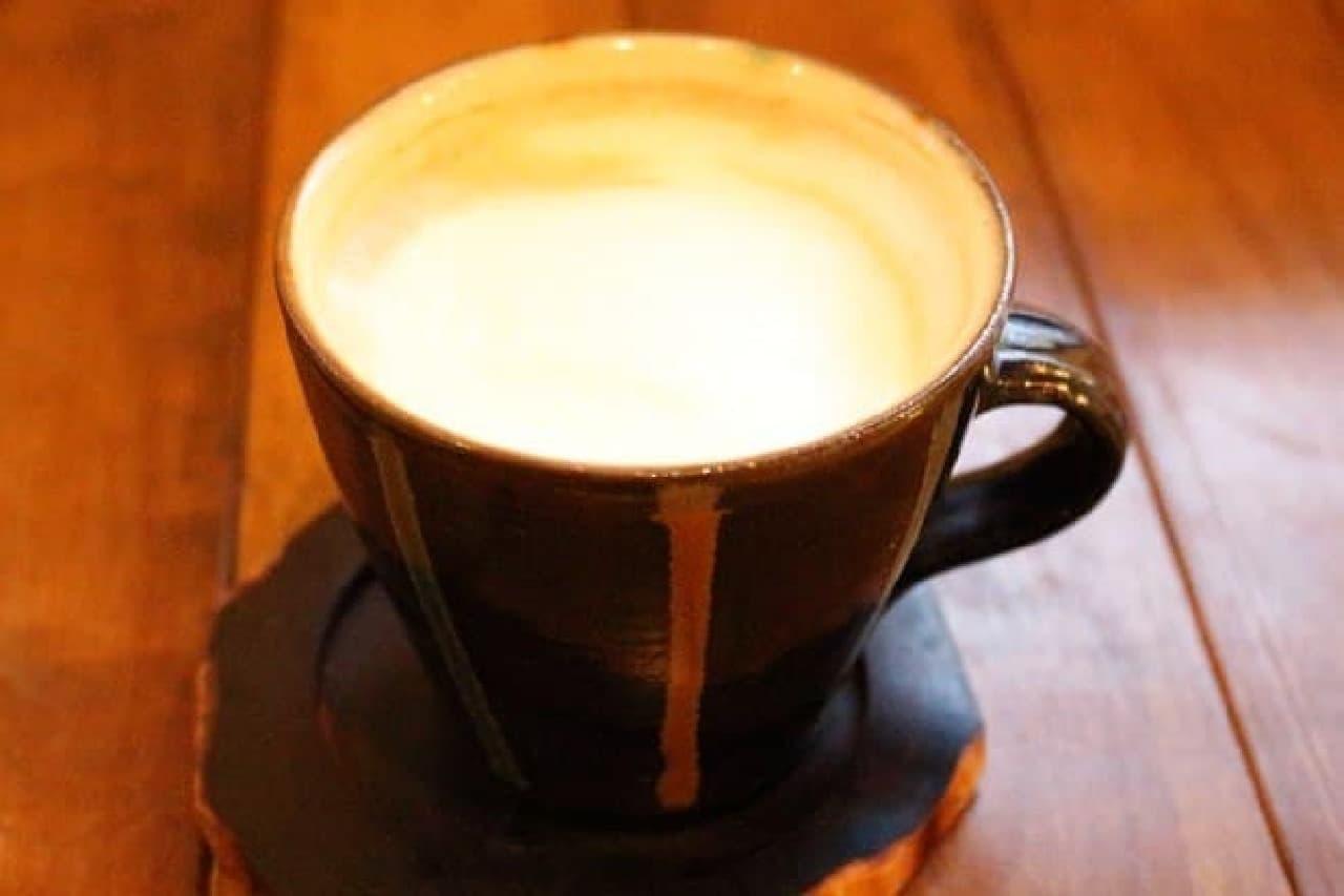 ペドラブランカのカフェラテ