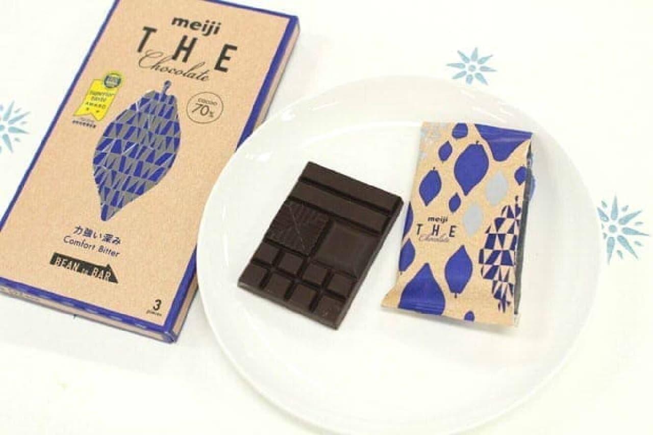 明治ザ・チョコレート「力強い深み コンフォートビター」