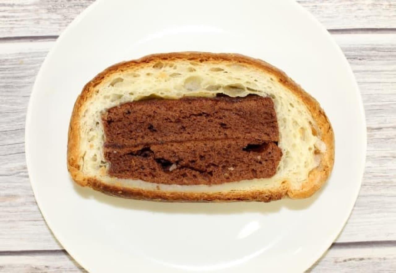 サンドイッチパーラーまつむら「クロワッサンケーキ」