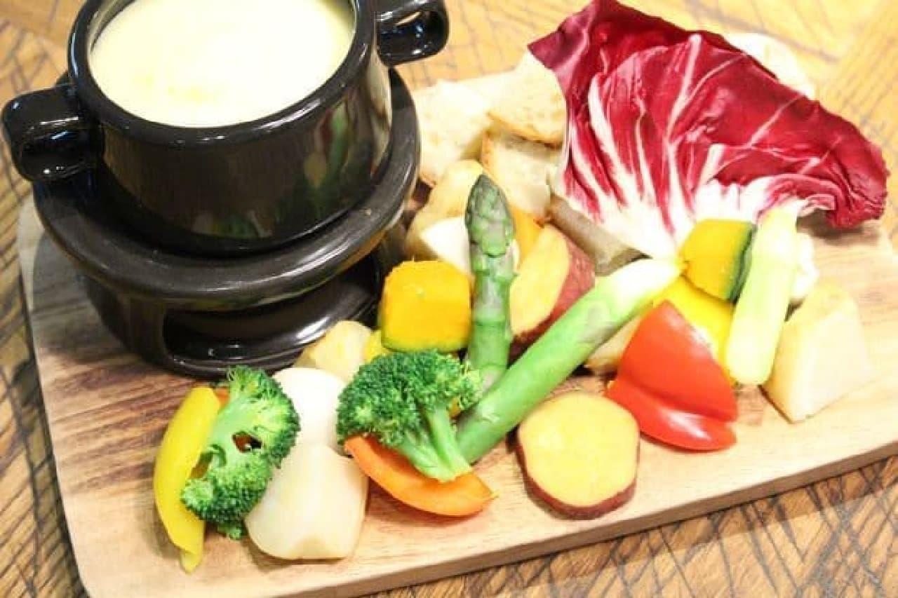 チーズフォンデュ食べ放題ル バーラ ヴァン サンカン ドゥ