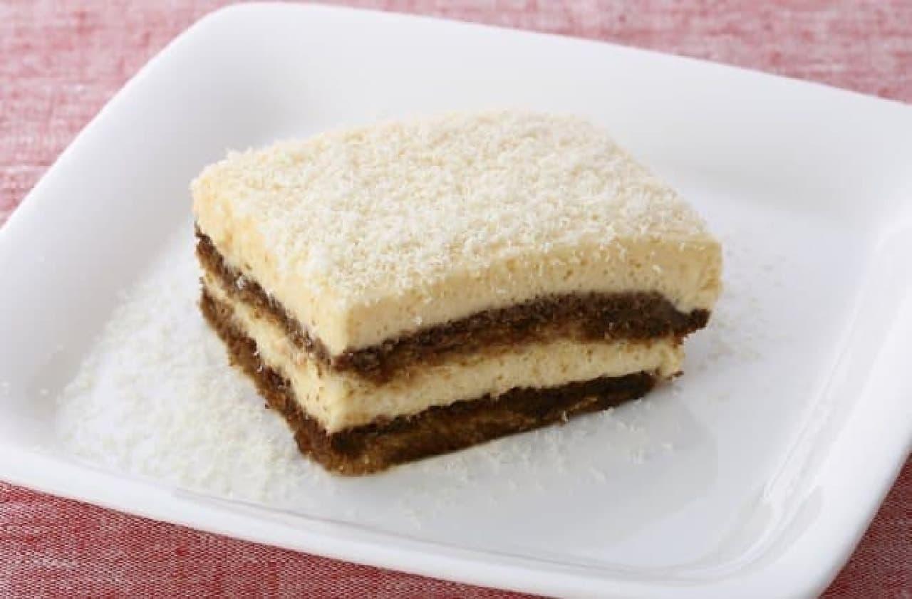 キハチ カフェ「ホワイトチョコレートのティラミス」