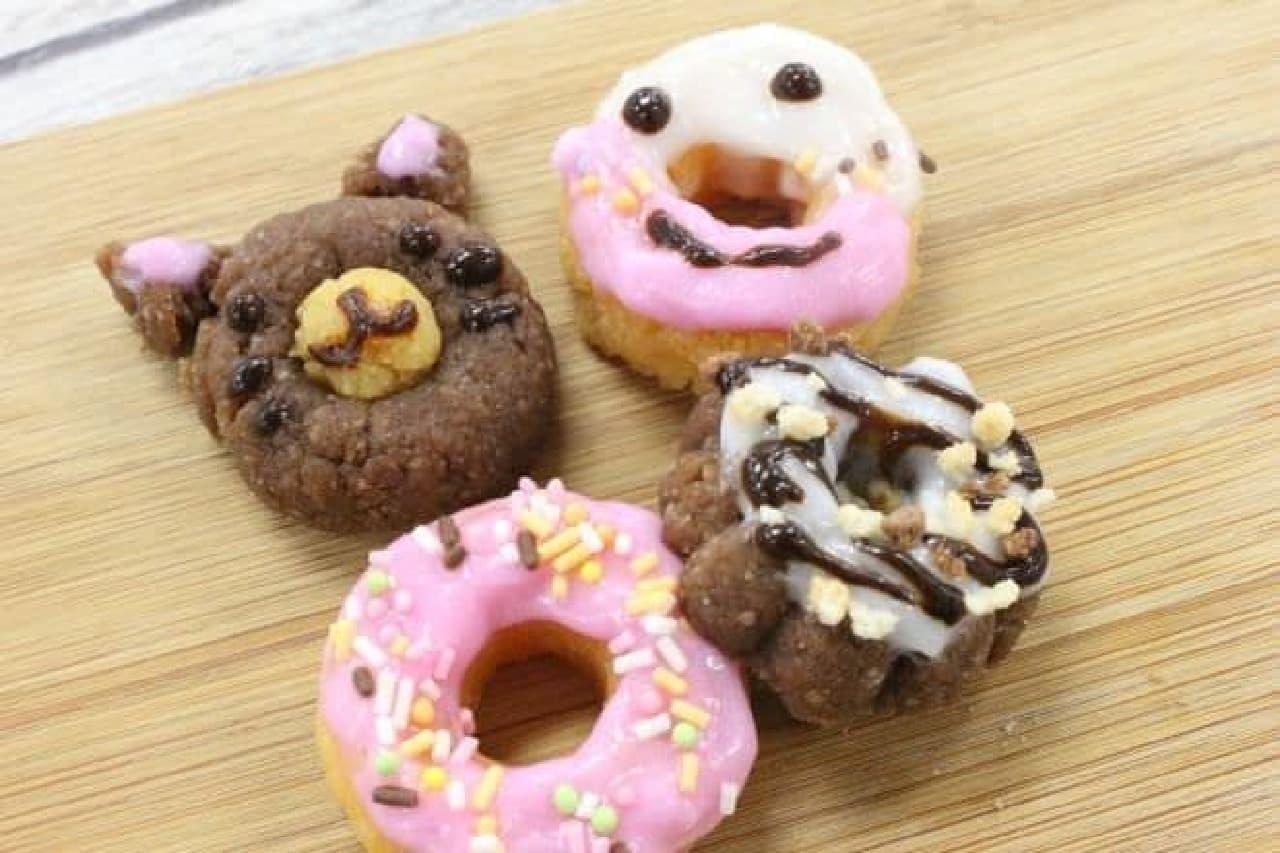 「作って食べよう!ドーナツ」のドーナツ完成