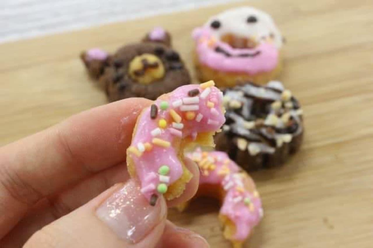 「作って食べよう!ドーナツ」のドーナツ