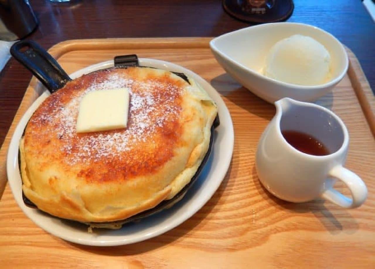東京ロビー「鉄鍋パンケーキ」