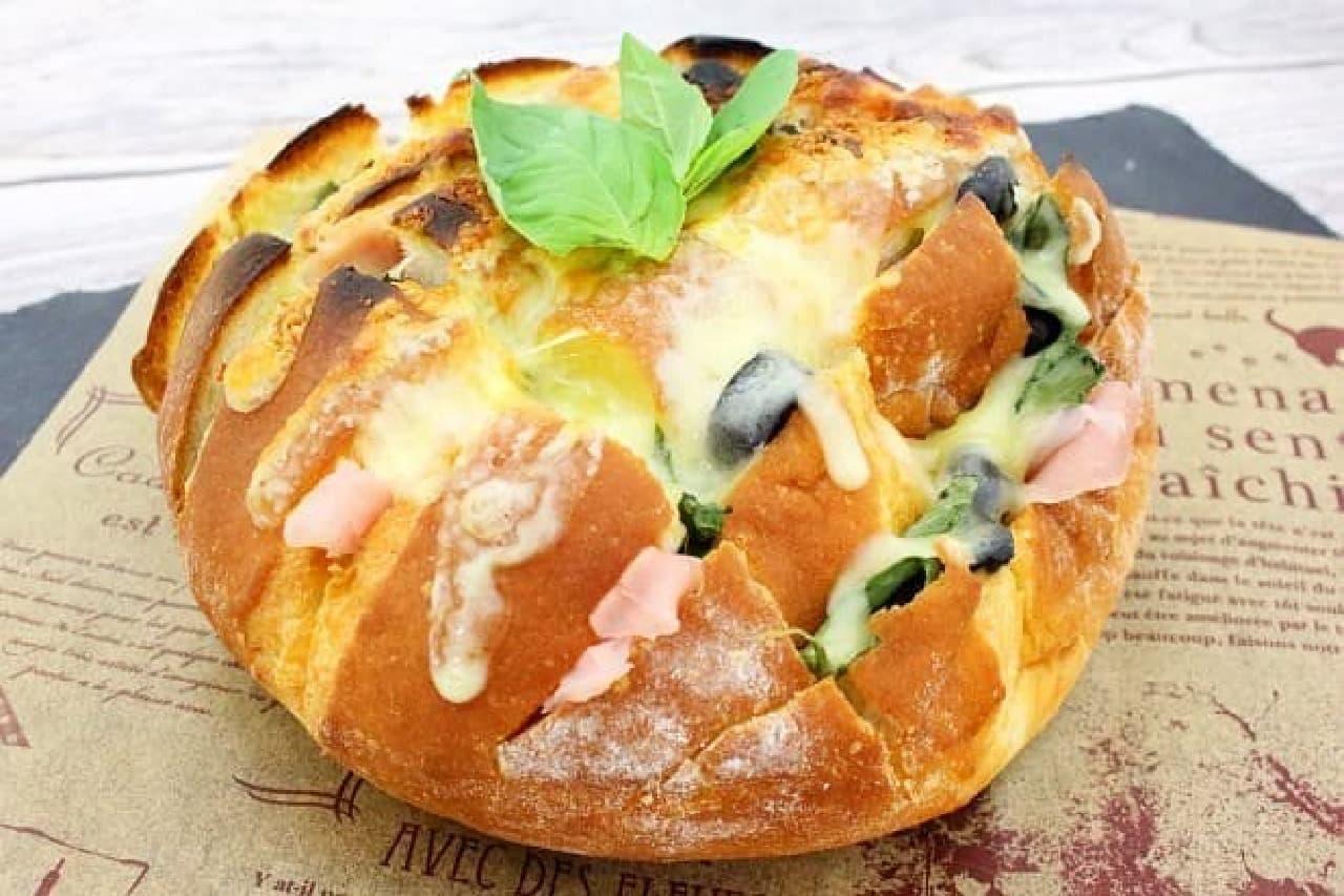 まるごとカンパーニュのチーズ焼き