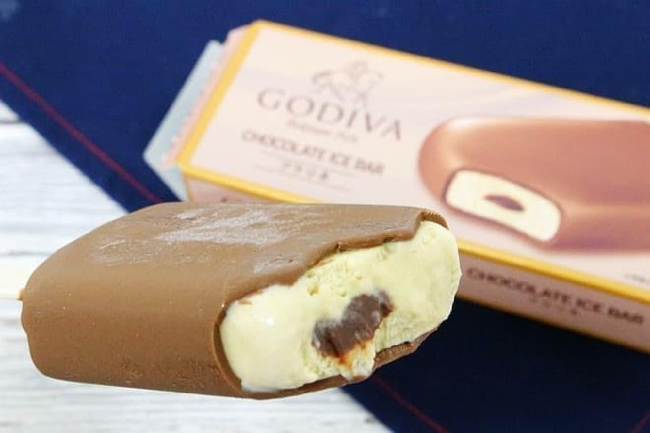 ゴディバ チョコレートアイスバー プラリネ