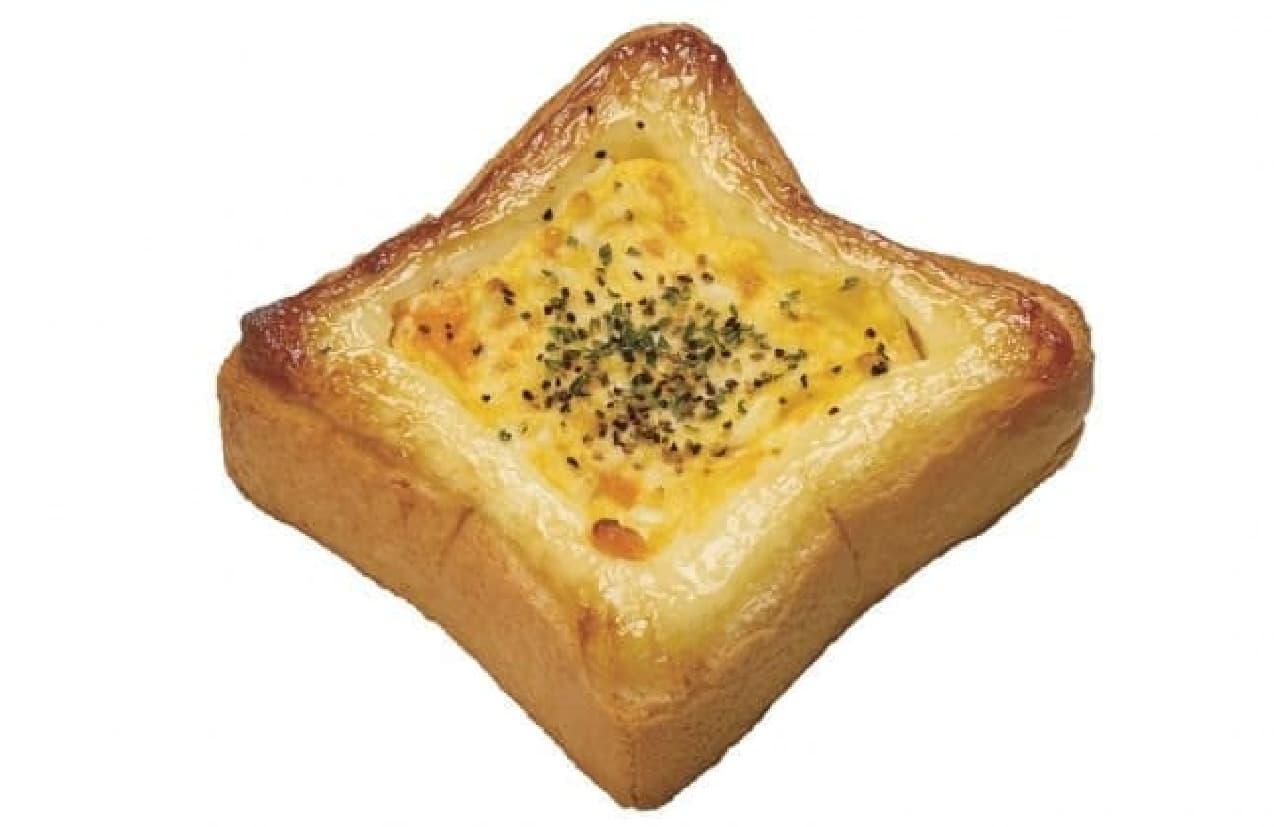 ミスタードーナツ「トッピング・ホットトースト たまごマヨ」