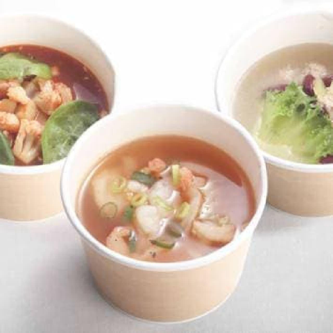 タマゴサンドとスープの専門店「サンド de スープ」、イクスピアリに