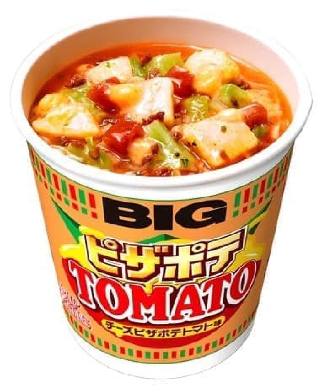 日清「カップヌードル チーズピザポテトマト味」