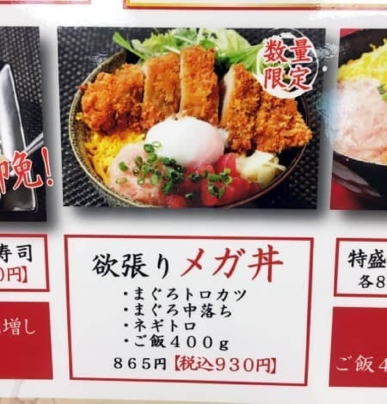 まぐろのなかだ屋 五反田TOCビル店「こぼれ寿司」