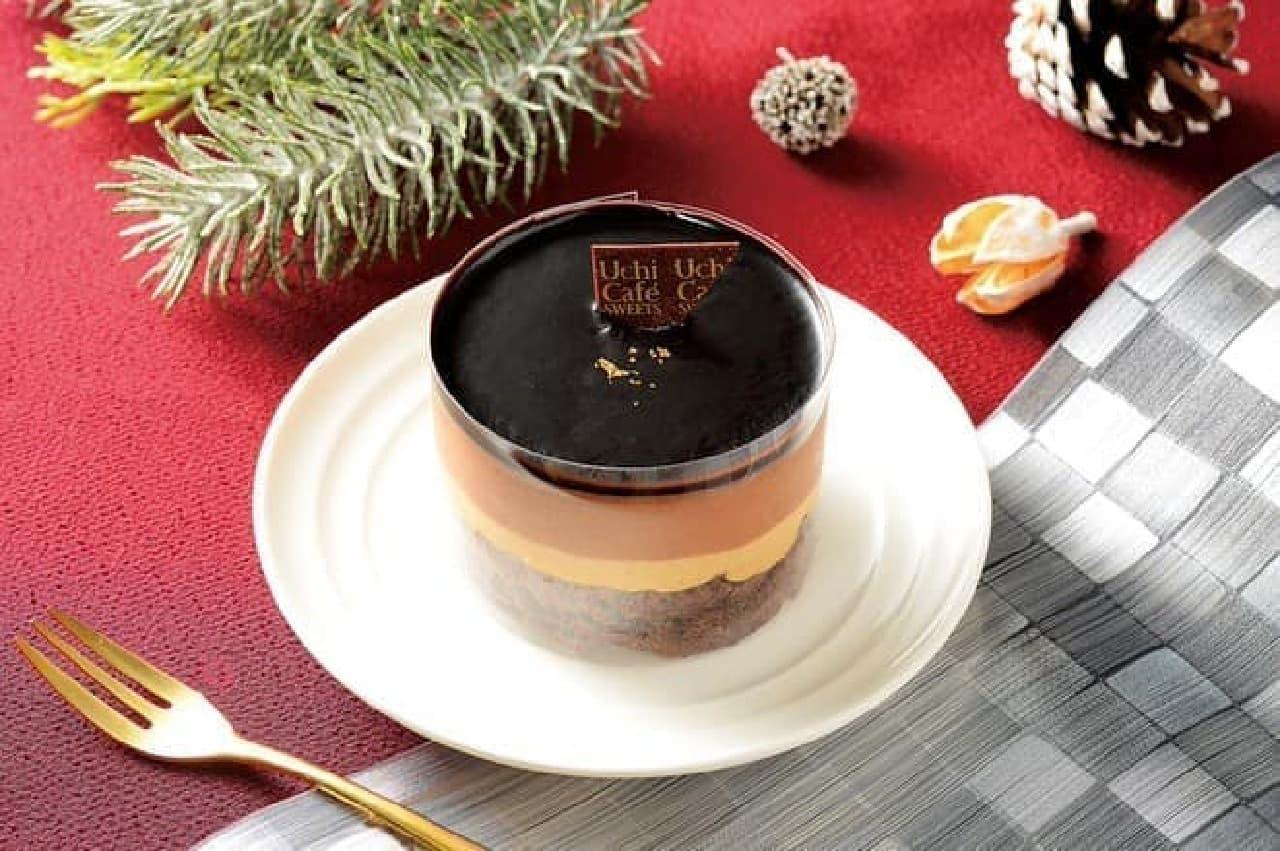 ローソンにお試しサイズのクリスマスケーキ