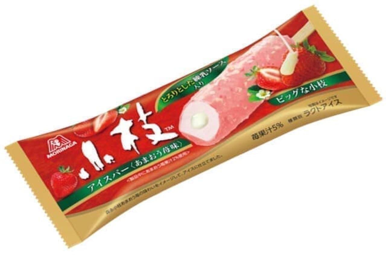 小枝アイスバー あまおう苺味