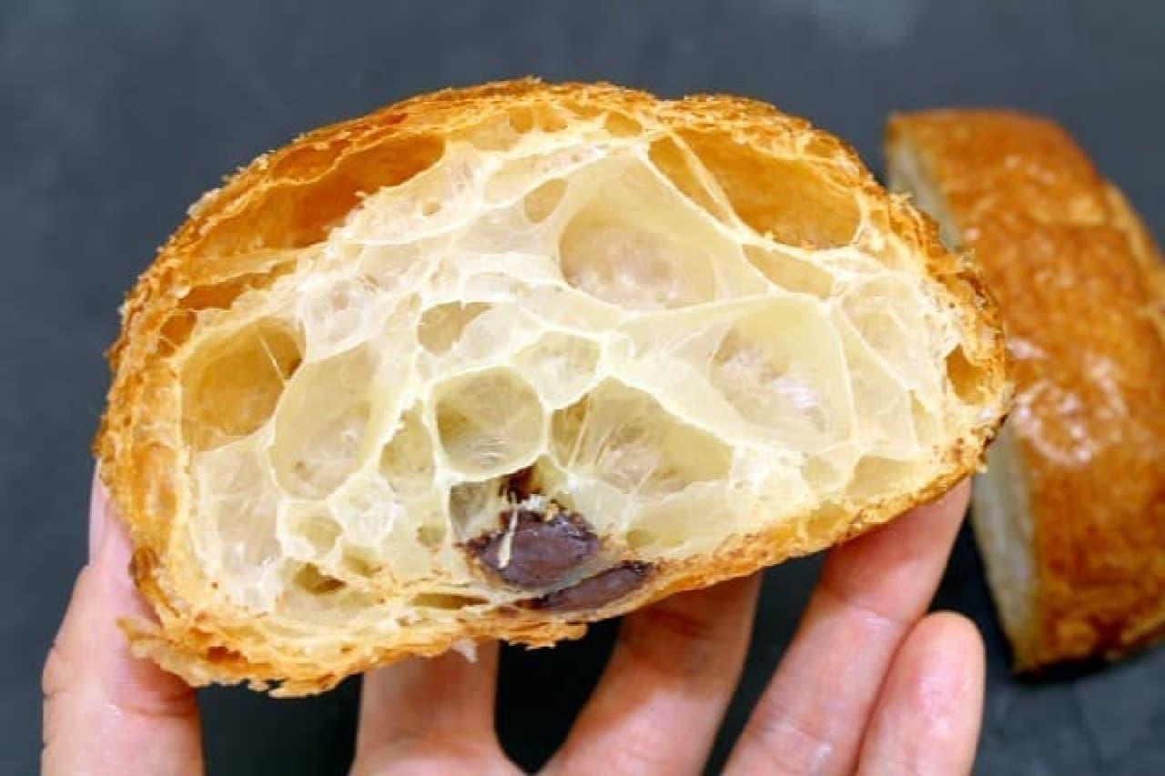 エシレ・メゾン デュ ブールのパン・オ・ショコラ