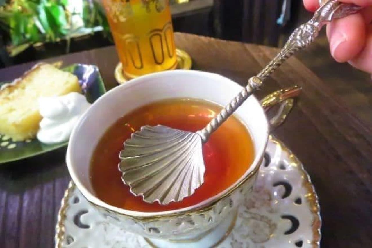 「スウィート・マロン」はマロンの香りがする紅茶