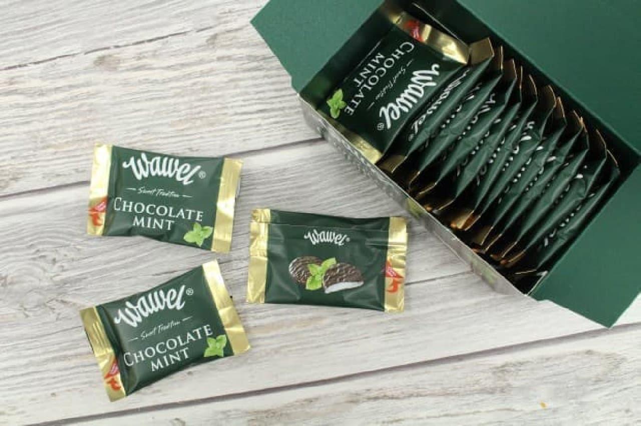 ポーランドのチョコレートメーカー「WAWEL(ヴァヴェル)」から販売されている「チョコミント」