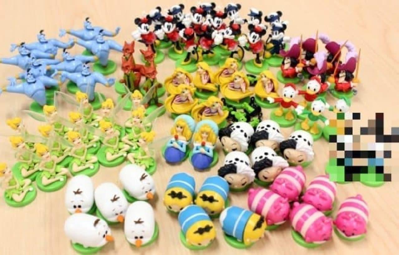 タマゴ型のチョコにおもちゃが入った玩具菓子「チョコエッグ」の中身