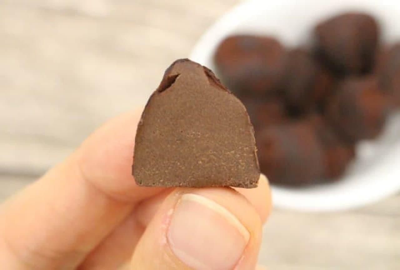 ミニボックストリュフ モヒートはフランスから輸入されたモヒート味のトリュフチョコレート