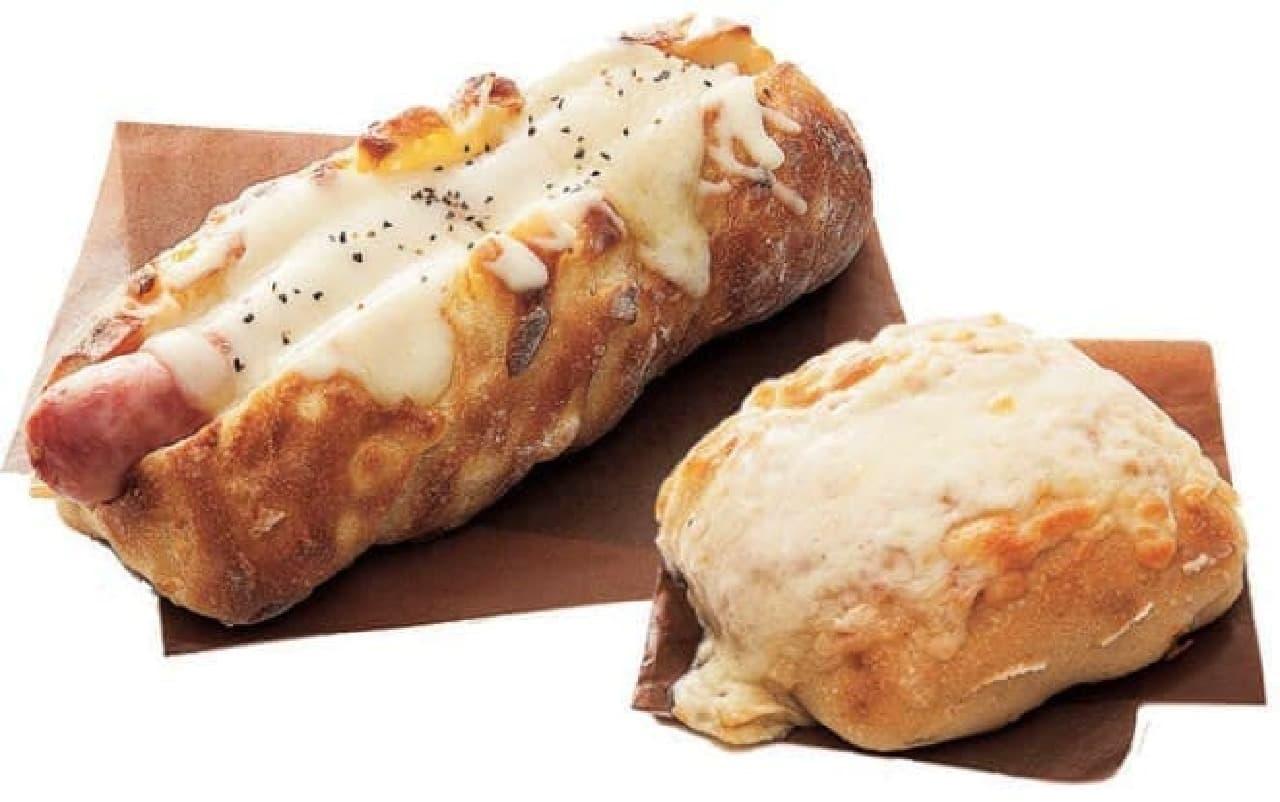 北海道・十勝「満寿屋商店」 十勝産ソーセージのコーンパン とろ~りチーズパン
