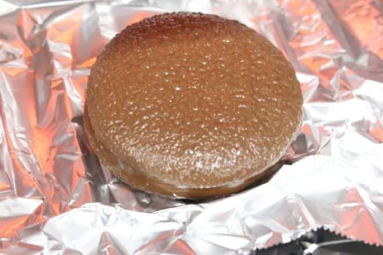 ロッテの「チョコパイ」をトーストしたもの