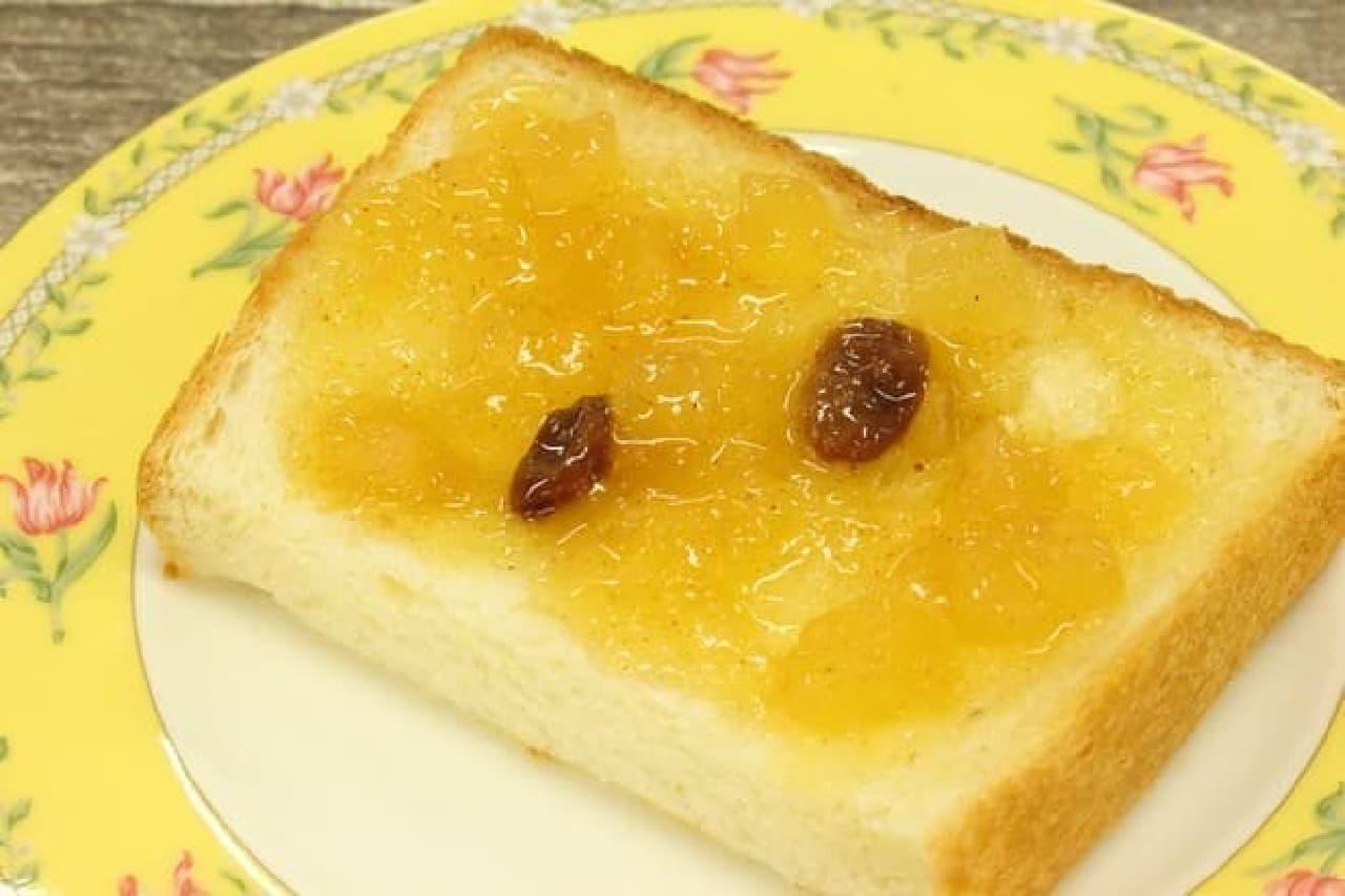 成城石井で、冬季限定販売される人気の「アップルシナモンジャム」