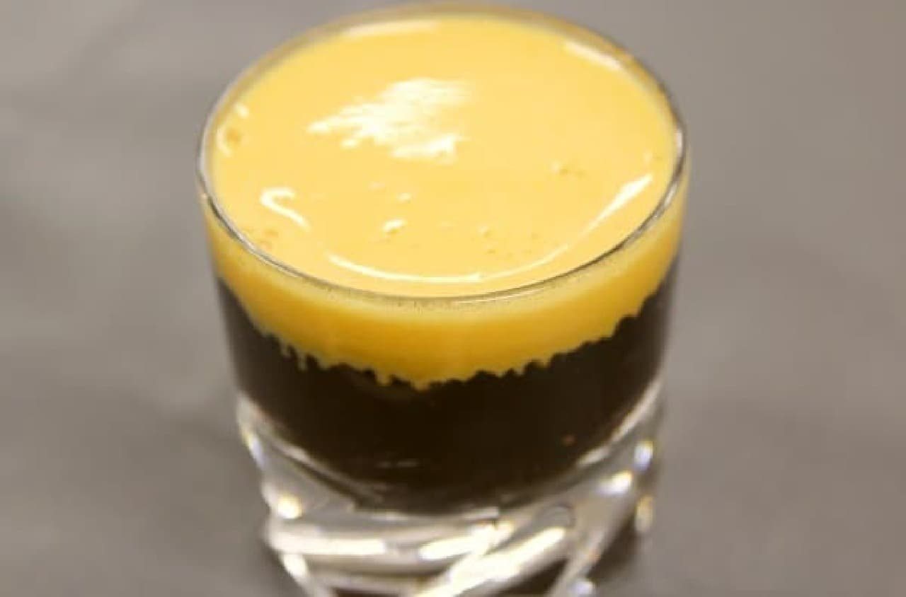 完成した「ベトナムエッグコーヒー」