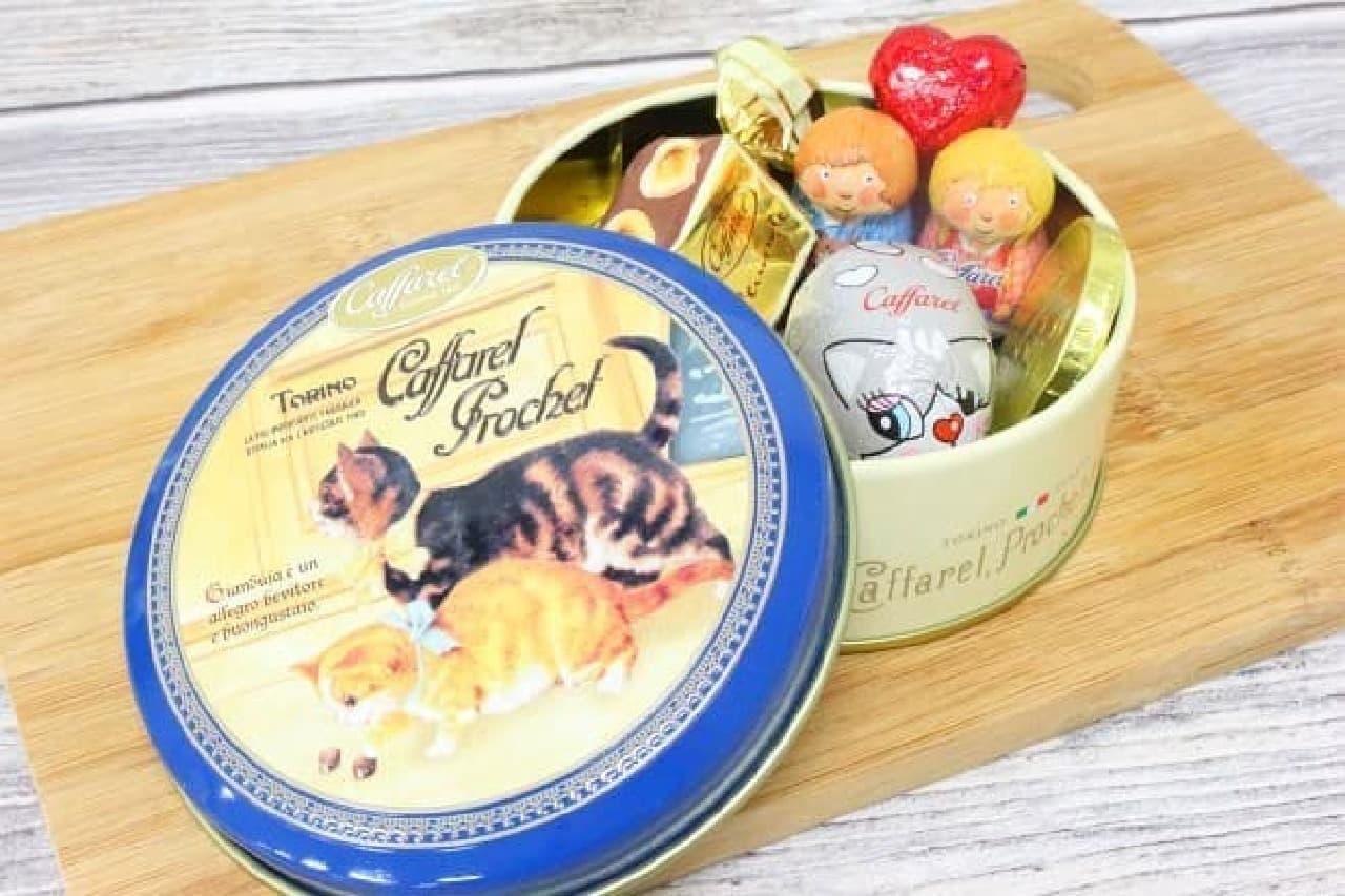 イタリア・トリノの老舗チョコレートブランド『カファレル』の「チョコラティーノ(ネコ)」