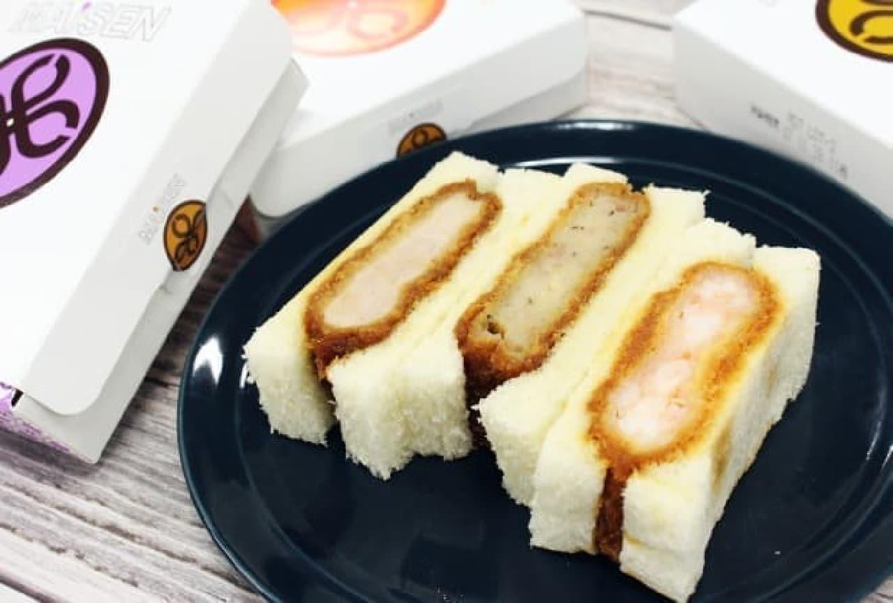 マイセンのサンドイッチ