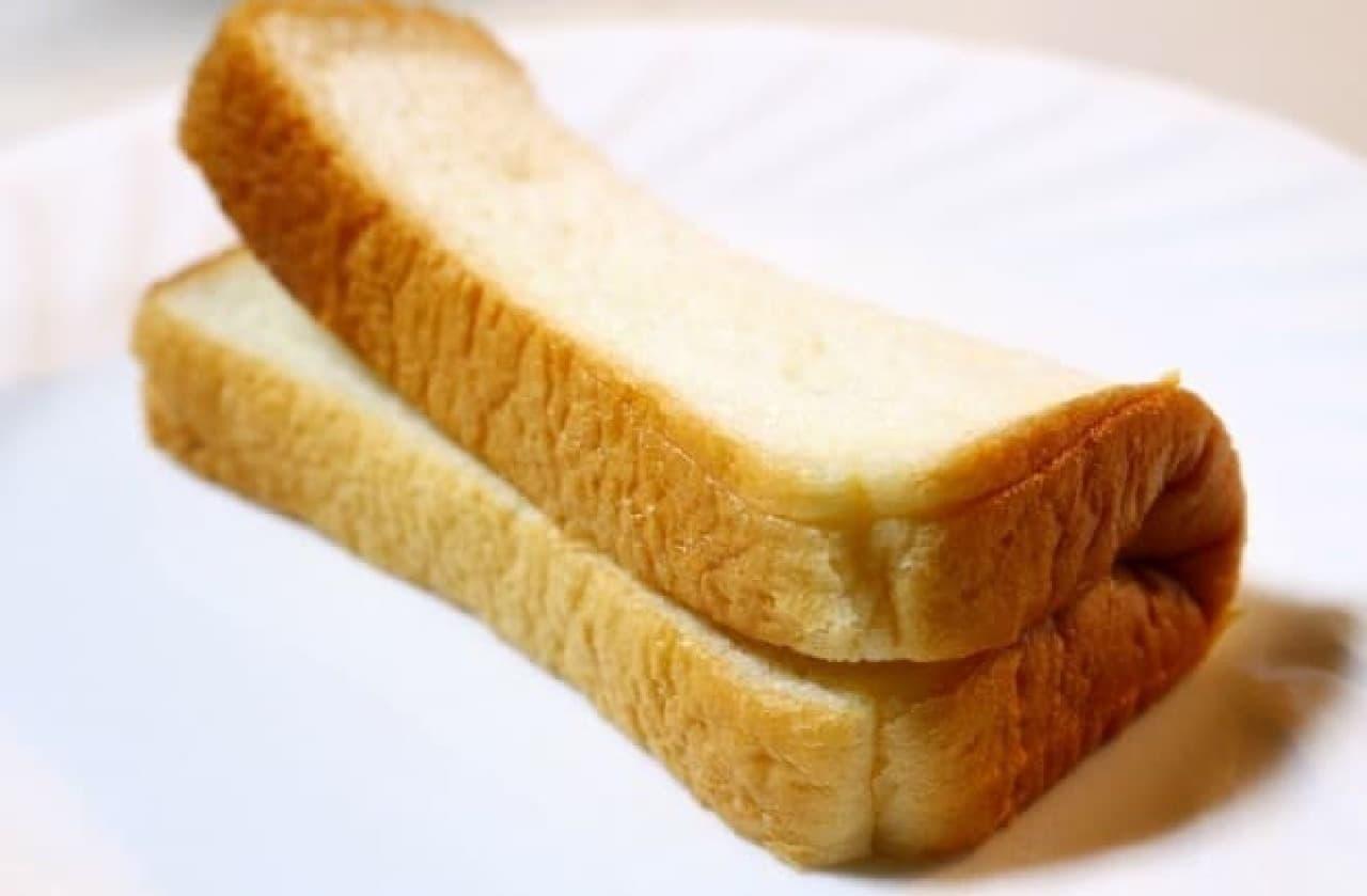 ミミまでふわふわになった食パン