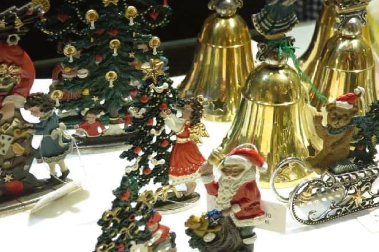 六本木ヒルズ 大屋根プラザで開催されているクリスマスマーケット