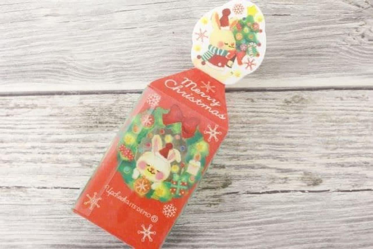 「クリスマスモチーフ」は、チョコチップクッキーとチョコレート入りのセット