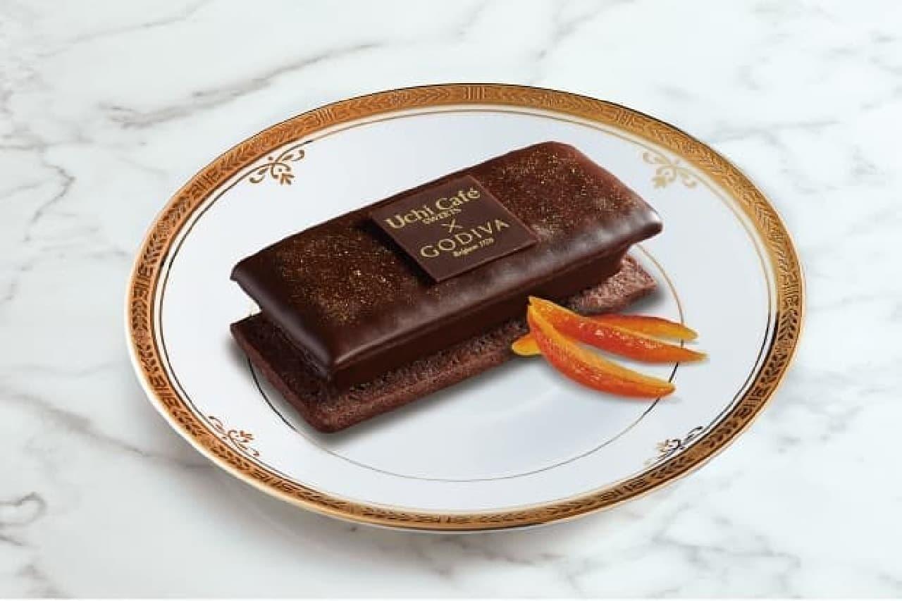 ローソン×ゴディバ「ショコラクッキーサンド」