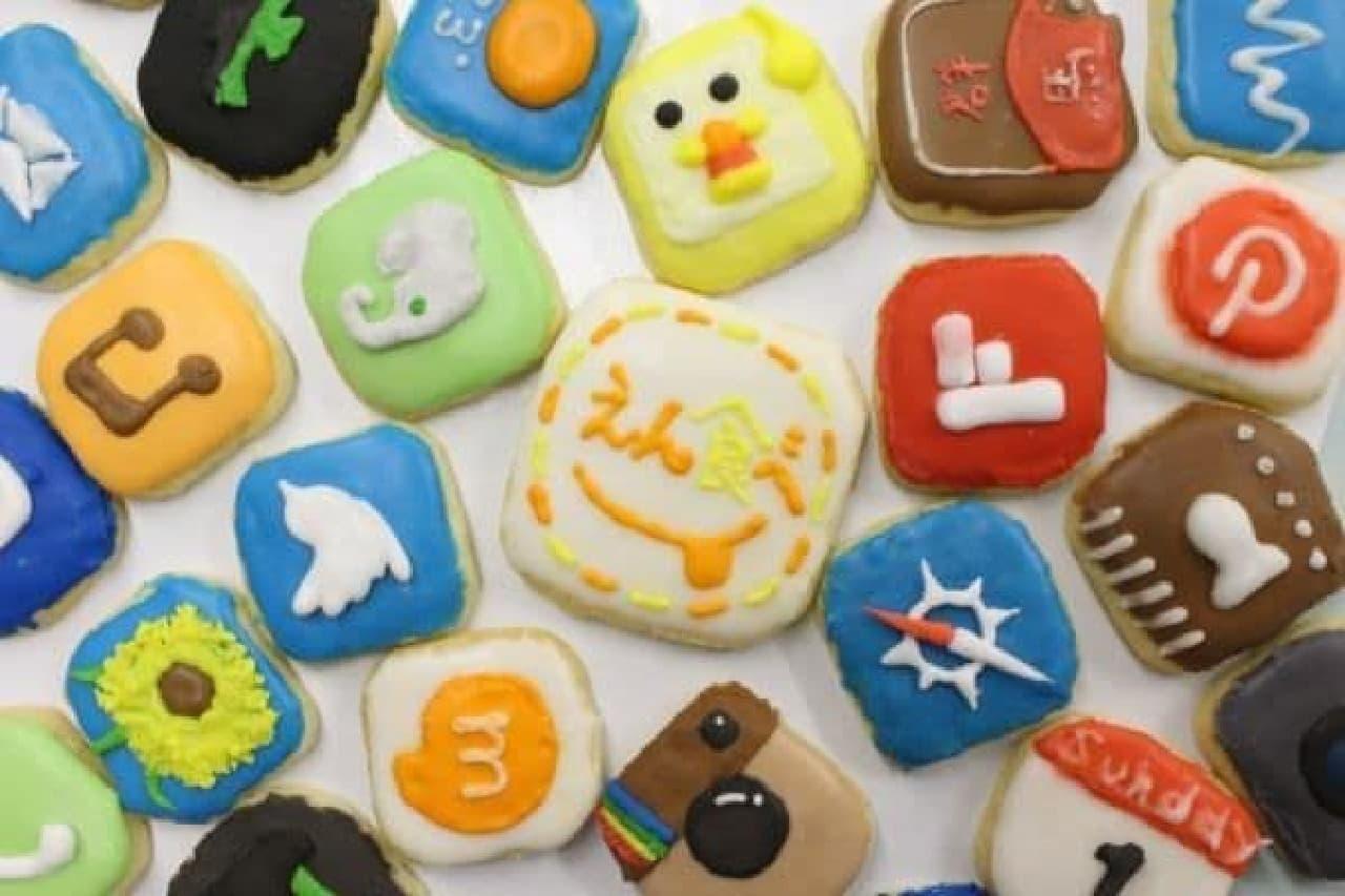 アプリ型アイコンクッキー